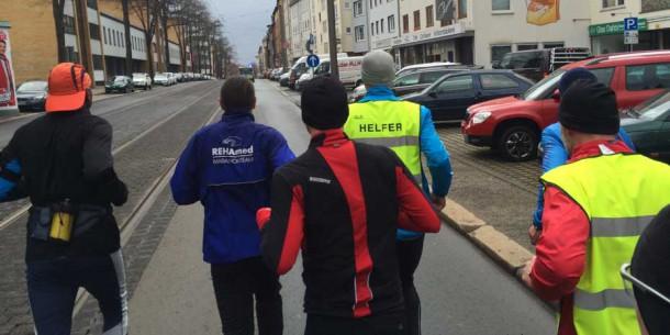 Vorbereitungslauf Kassel Marathon