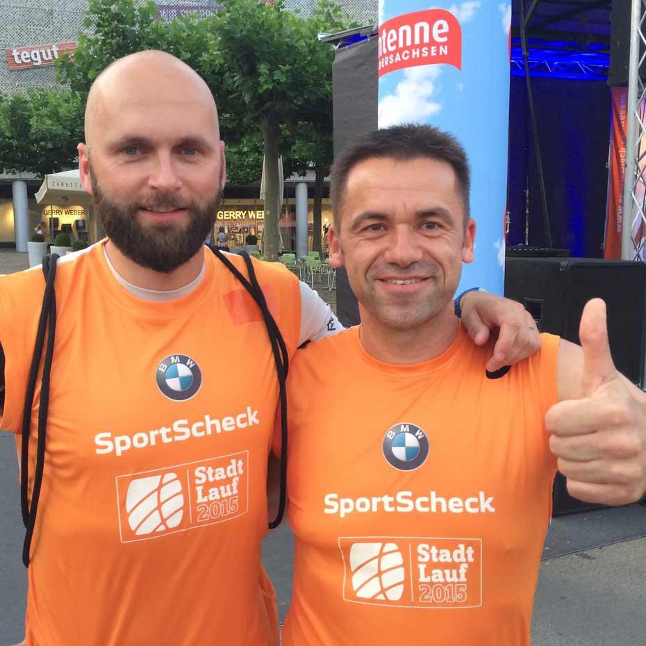 SportScheck Nachtlauf Kassel 2015 - Nils Schumann