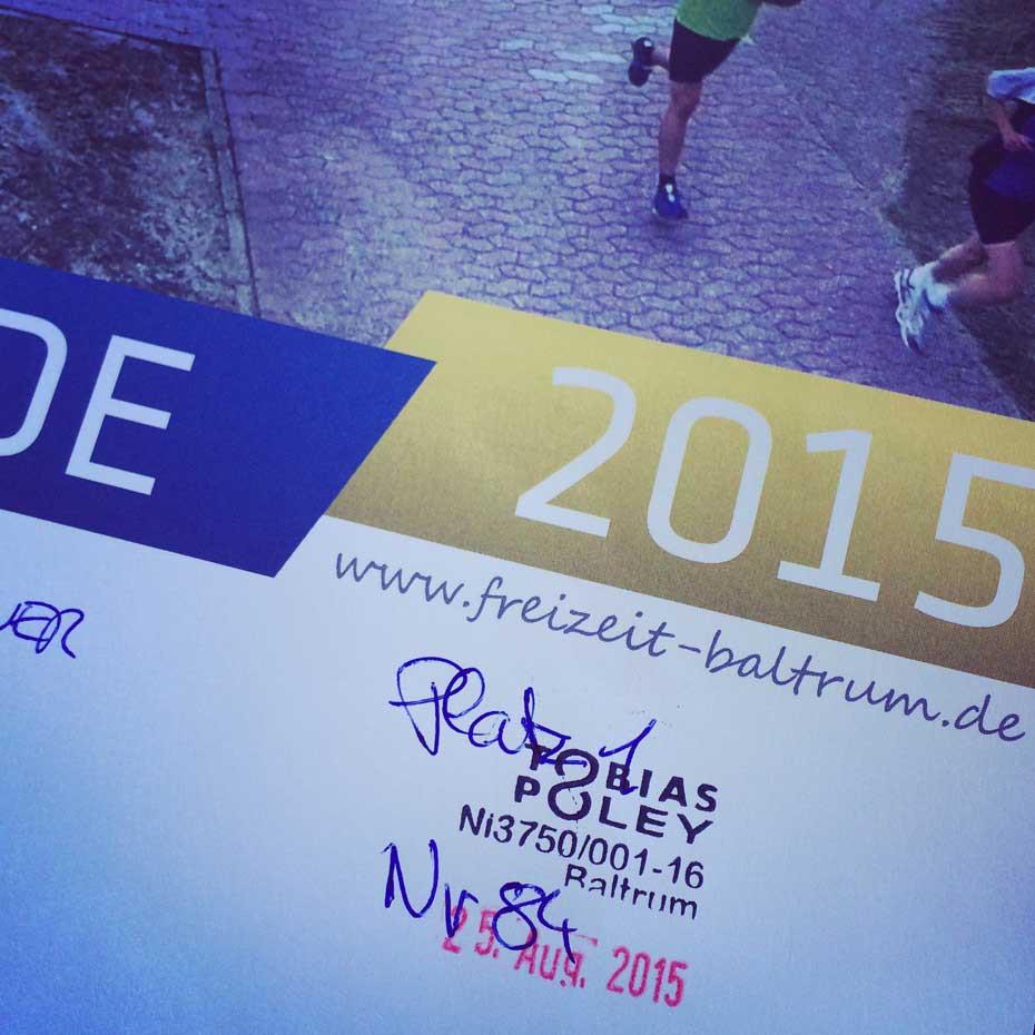 Baltrumlauf 2015