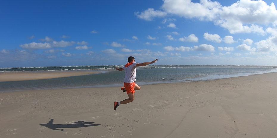 Laufen auf Baltrum